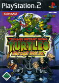 TMNT: Mutant Melee PlayStation 2 Front Cover