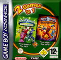 2 Games in 1: Power Rangers: Time Force / Power Rangers: Ninja Storm Game Boy Advance Front Cover