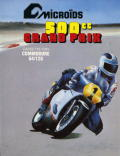 Grand Prix 500 cc Commodore 64 Front Cover