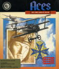 Blue Max: Aces of the Great War Amiga Front Cover