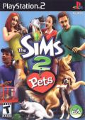 The Sims 2: Pets PlayStation 2 Front Cover