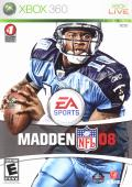 Madden NFL 08 Xbox 360 Front Cover