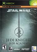 Star Wars: Jedi Knight - Jedi Academy Xbox Front Cover