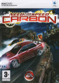 Need for Speed: Carbon Macintosh Front Cover