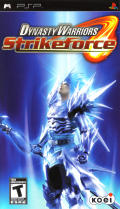 Dynasty Warriors: Strikeforce PSP Front Cover
