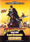 Indiana Jones and the Last Crusade: The Action Game Genesis Front Cover