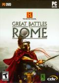 The History Channel: Great Battles of Rome Windows Front Cover
