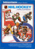NHL Hockey Intellivision Front Cover
