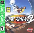 Tony Hawk's Pro Skater 2 PlayStation Front Cover