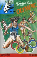 Micro Olympics Commodore 64 Front Cover