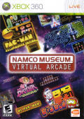 Namco Museum: Virtual Arcade Xbox 360 Front Cover