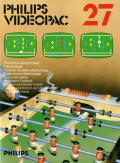 Electronic Table Soccer! Odyssey 2 Front Cover