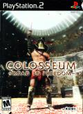 Colosseum: Road to Freedom PlayStation 2 Front Cover