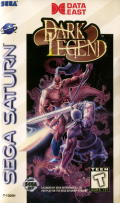 Dark Legend SEGA Saturn Front Cover
