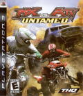 MX vs. ATV: Untamed PlayStation 3 Front Cover