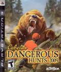 Cabela's Dangerous Hunts 2009 PlayStation 3 Front Cover