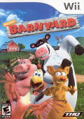 Barnyard Wii Front Cover
