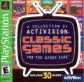 A Collection of Activision Classic Games for the Atari 2600 PlayStation Front Cover