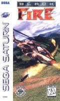 Black Fire SEGA Saturn Front Cover