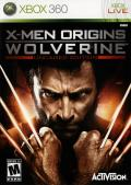X-Men Origins: Wolverine - Uncaged Edition Xbox 360 Front Cover