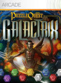 Puzzle Quest: Galactrix Xbox 360 Front Cover