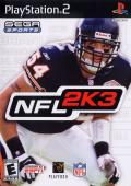 NFL 2K3 PlayStation 2 Front Cover