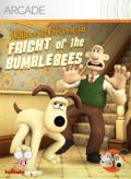 Wallace & Gromit in Fright of the Bumblebees Xbox 360 Front Cover