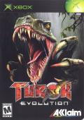 Turok: Evolution Xbox Front Cover