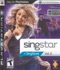 SingStar: Vol.2 PlayStation 3 Front Cover