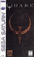 Quake SEGA Saturn Front Cover