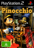 Pinocchio PlayStation 2 Front Cover