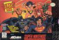 Justice League: Task Force SNES Front Cover