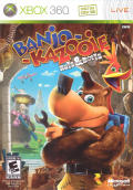 Banjo-Kazooie: Nuts & Bolts Xbox 360 Front Cover