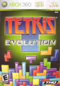 Tetris Evolution Xbox 360 Front Cover