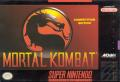 Mortal Kombat SNES Front Cover