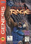 Primal Rage Genesis Front Cover