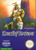 Deadly Towers NES Front Cover