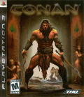 Conan PlayStation 3 Front Cover