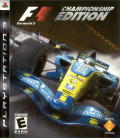 Formula 1 Championship Edition PlayStation 3 Front Cover