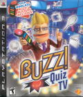 Buzz!: Quiz TV PlayStation 3 Front Cover