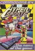 Hyper Sports Commodore 64 Front Cover