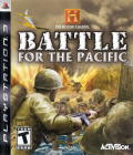 The History Channel: Battle for the Pacific PlayStation 3 Front Cover