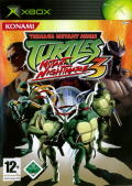 Teenage Mutant Ninja Turtles 3: Mutant Nightmare Xbox Front Cover