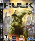 The Incredible Hulk PlayStation 3 Front Cover