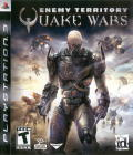 Enemy Territory: Quake Wars PlayStation 3 Front Cover
