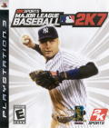 Major League Baseball 2K7 PlayStation 3 Front Cover