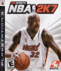 NBA 2K7 PlayStation 3 Front Cover