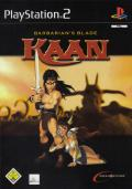 Kaan: Barbarian's Blade  PlayStation 2 Front Cover