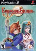 Ephemeral Fantasia PlayStation 2 Front Cover
