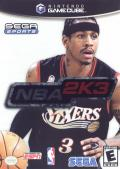 NBA 2K3 GameCube Front Cover